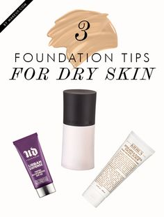how to wear foundation flawlessly when you have dry skin
