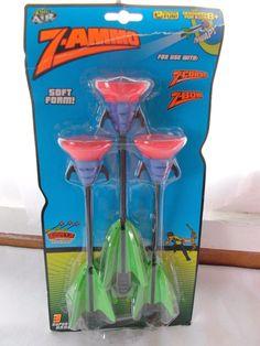 Zing Air Z Ammo 3 Arrows Refills for Z Bow #ZingAir