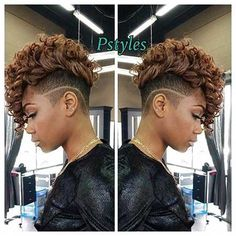 40 Mohawk Hairstyles For Black Women Short Cuts Short Hair