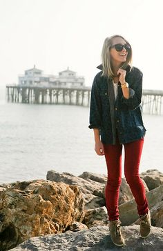 Christmas in California. (by Jessica Snyder) http://lookbook.nu/look/4407711-Christmas-in-California