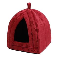 Warm Snuggly Cave Bed for Small Pets