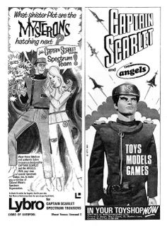 Captain Scarlet Ads 1967 | Flickr - Photo Sharing!