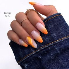 funky summer nail designs to impress your friends 10 ~ thereds.me - Nail Designs - Aycrlic Nails, Nail Manicure, Hair And Nails, Stylish Nails, Trendy Nails, Almond Nails Designs, Nail Designs, Nailart, Short Gel Nails