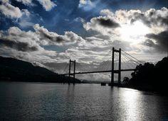 Puente de Rande. Ría de Vigo