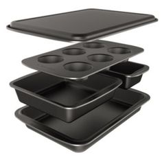 Baker's+Secret+Easy+Store+5-pc.+Nonstick+Bakeware+Box+Set; Kohls.com Online only; $30 (Any will do. I just need new baking pans).