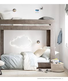 would love to hang multiple starry light clouds on the playroom walls or on the wall heading downstairs from first floor to playroom as night lights!