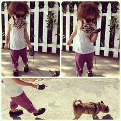 Walking Lola #alaiarose #ootd - @monicarosestyle- #webstagram