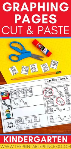 This NO-PREP graphing resource is a great way to introduce, teach, and reinforce graphing to Kindergarten and first grade students. Students will learn to count, organize, record, and interpret data. There's tons of fun, year-round themes to keep your students engaged!