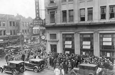The Wall Street Crash of 1929 (October 1929) was the most devastating stock market crash in the history of the United States and began a 12-year economic slump.