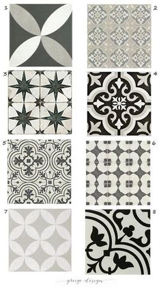 Hall Bath Floor options Get the Look of Cement tile with Ceramic – Greige Design Cement Tiles Bathroom, Bathroom Flooring, Kitchen Flooring, Cement Tile Backsplash, Tile Flooring, Mosaic Tiles, Wall Tiles, Modern Kitchen Backsplash, Hall Bathroom
