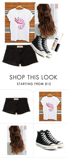 """""""OOTD ( Cause I actually went out ;D )"""" by gussied-up ❤ liked on Polyvore featuring Hollister Co., Urban Outfitters and Converse"""