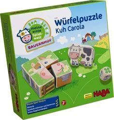 Würfelpuzzle Kuh Carola