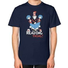 Read Across America Unisex T-Shirt (on man)