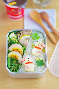 puppies bento by luckysundae, via Flickr