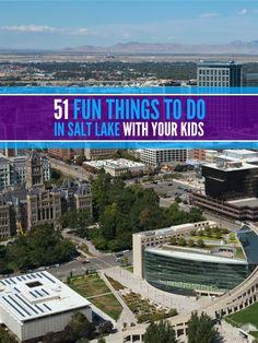 Fun Things To Do With Kids In Salt Lake City Utah