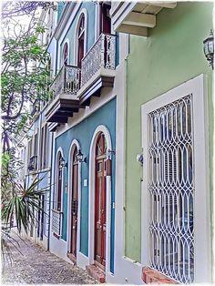 Doorways and windows.... Streets of Puerto Rico