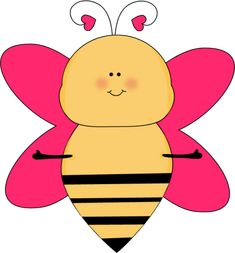 Heart Bee with Open Arms