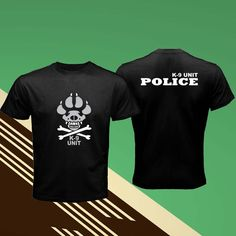 New K-9 Brazil Special Forces Unit Police Dog Canine Black Men T-Shirt S-3XL #Unbranded #GraphicTee
