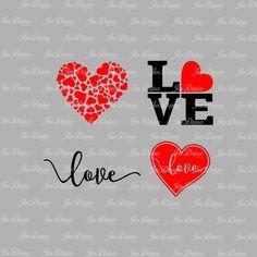 Valentine SVG DXF EPS , svg file,svg for cricut,svg for silhouette,love svg, heart svg,love you svg,valentines day, svg cutting files by JenDzines on Etsy Mug Design, Pillow Design, Diy Screen Printing, Wood Burning Patterns, Valentines Day Shirts, Printable Art, Printables, Silhouette Cameo Projects, Love Wallpaper