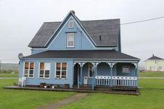 La maison d'Éva-Anne aux Îles de la Madeleine