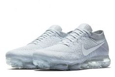 Nike VaporMax Releasing in Pure Platinum and White