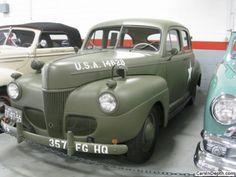 1941 Ford U.S. Army Air Corps staff car