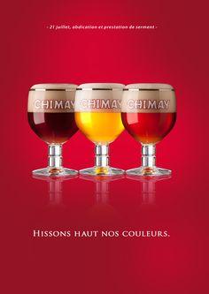 Lielens welcomes new Belgian King with Chimay Beer - Brussels, Belgium