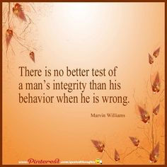quotes about integrity and behavior quotesgram