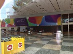 Apple Begins Decorating Moscone Center for WWDC 2013, 'Where A Whole New World's Developing'