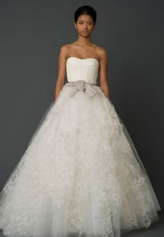 Wedding Dresses, Bridal Gowns by Vera Wang | Spring 2012