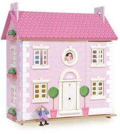 wooden dolls house for kids