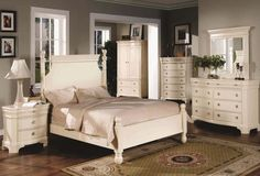 White Washed Bedroom Furniture Sets