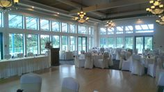 Wedding Langley BC Langley Golf & Banquet Centre Gold and Pink & Purple Décor