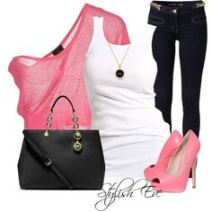 Love the pink.