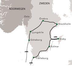 Zweedse parels - rondreis Zweden - Nordic Info 10d (2405km)