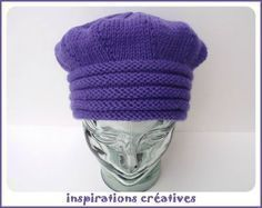 trop beau et en français! Bonnet Crochet, Crochet Pattern, Knit Crochet, Crochet Hats, Free Pattern, Knitting Blogs, Loom Knitting, Knitting Patterns, Bonnet Hat