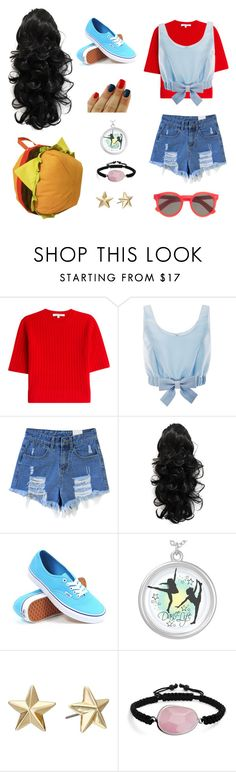 """Stevonnie Inspired"" by mnerd ❤ liked on Polyvore featuring Carven, Honor, Vans, Rebecca Minkoff, Bling Jewelry and Illesteva"