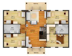 Liker planløsningen for Floor Plans, Country, Rural Area, Floor Plan Drawing, House Floor Plans, Country Music