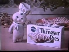 1976 Pillsbury Apple Turnover Pies TV commercial w/Charlene Tilton