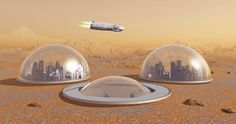 Bases Alienígenas en Marte.