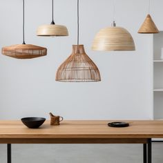 Handcrafted in Vietnam by artisans, the Moxley natural bamboo easy-to-fit ceiling shade's warm tones and relaxed design soften a room's hard edges. Buy now at Habitat UK. Beach House Lighting, Lighting Uk, Kitchen Lighting, Kitchen Lights Uk, Hallway Lighting, Lighting Ideas, Ceiling Lights Uk, Dome Ceiling, Ceiling Lamp