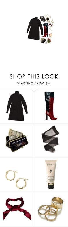 """""""victoria"""" by purplebugonice27 ❤ liked on Polyvore featuring Burberry, Tory Burch, AmeriLeather, Lord & Taylor, Lancôme, Zara, chic, black, CasualChic and sweaters"""
