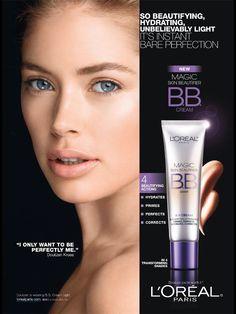 L'Oréal Paris Cosmetic Advertising with Doutzen Kroes