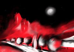 Red World  #digital #painting #iPad #Procreate  My own work
