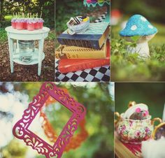 Alice in Wonderland Mad Tea Party photos, ideas and inspiration!