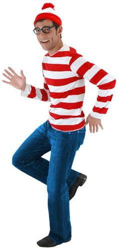 Disfraz ¿Dónde está Wally?