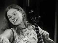 Jacqueline Mary du Pré, Incredible cellist RIP http://en.wikipedia.org/wiki/Jacqueline_du_Pr%C3%A9