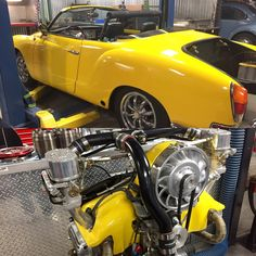 Audi Gt, Vw Modelle, Karmann Ghia Convertible, Vw Fox, Hot Vw, Vw Engine, Vw Classic, Volkswagen Karmann Ghia, Yellow Car