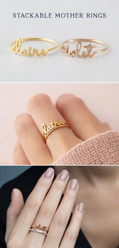 Gold Baguette Diamond Bypass Ring / Crisscross Diamond Ring / Double Baguette Bypass Ring / Two Stone Diamond Ring / Graduation Gift - Fine Jewelry Ideas Mom Ring Gifts For Brother, Gifts For Wife, Mom Gifts, Teacher Gifts, Gifts For New Moms, Gifts For Girls, Wedding Favors For Men, Wedding Gifts