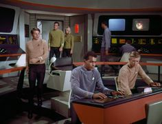"At Navigation station TOS Episode W""Where No Man Has Gone Before"" Actor Samuel LLoyd"